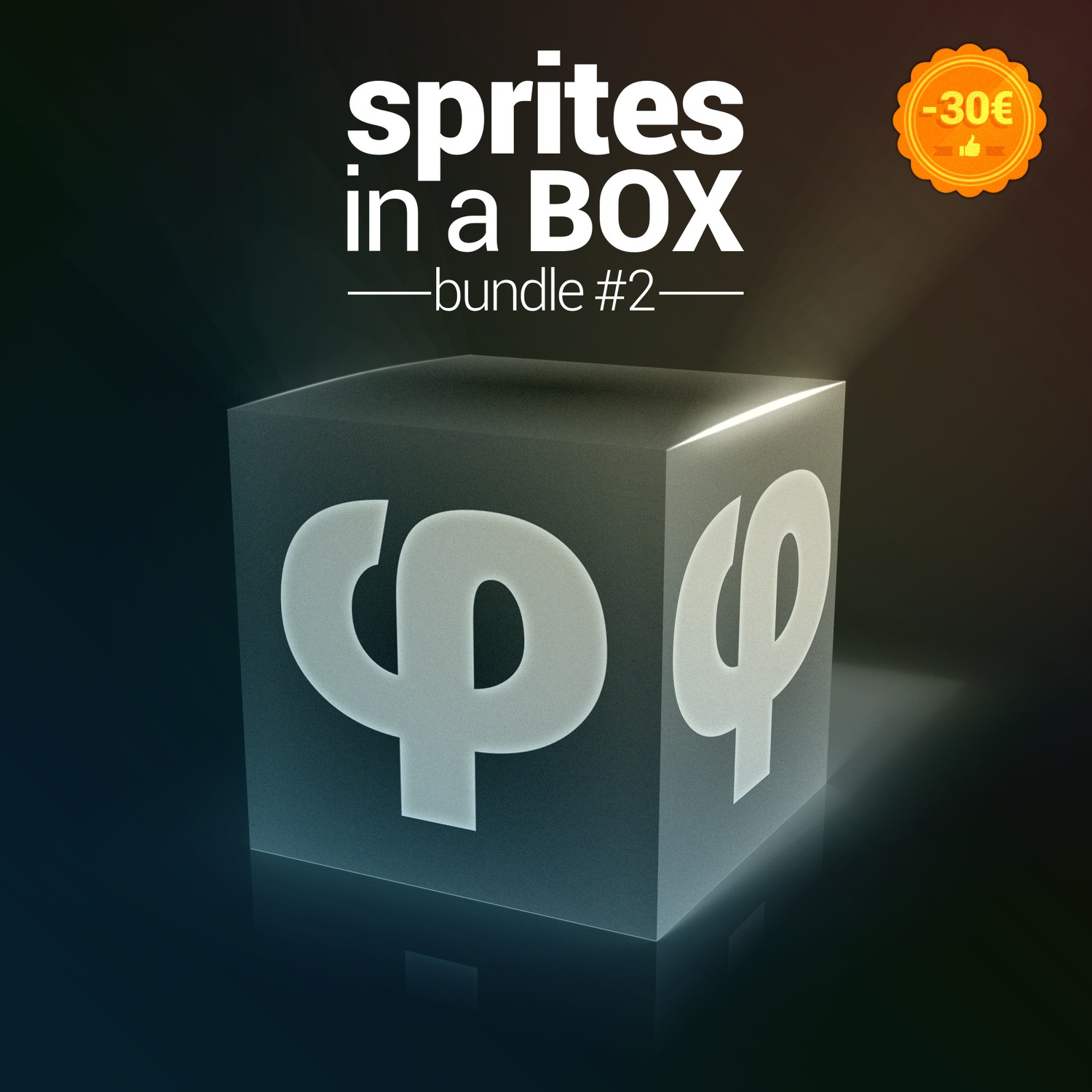 Royalty Free content pack - Sprites in a BOX Bundle - We supply the sprites, you supply the games!