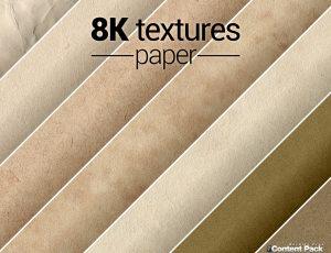 8K textures paper